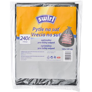 SWIRL Pytle na suť 240 l, 3 ks (4006508173433)