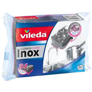 VILEDA Inox houbička 2 ks (4023103199989)