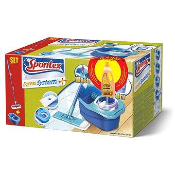SPONTEX Spontex Express systém mop + Alex extra péče laminát 750 ml (9001378503613)