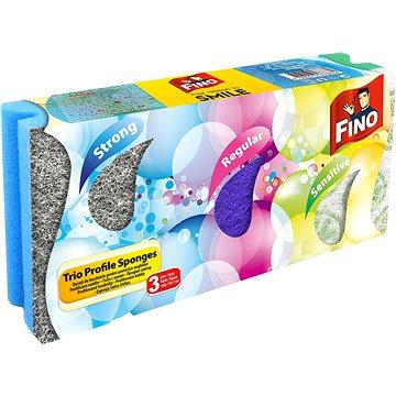 FINO Barevné houbičky profilované 3 ks (8606013476874)