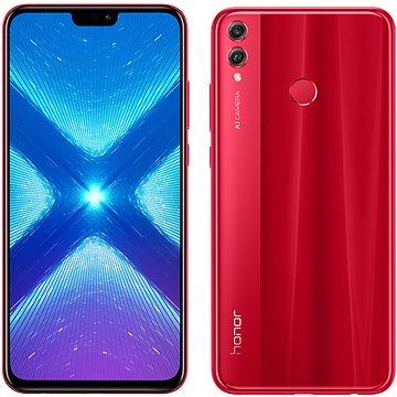 Honor 8X 64GB červená (51092XYJ)