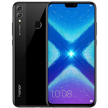 Honor 8X 128GB černá (51092XYN)