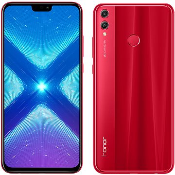 Honor 8X 128GB červená (51092YAD)