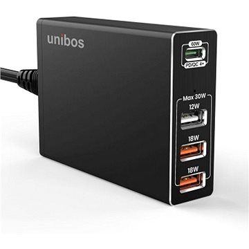 UNIBOS 4 Port 90W QC4+ Super Charger (UNQC-490)