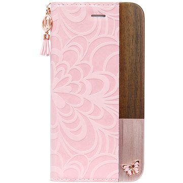 Uunique flip Embossed Butterfly iPhone 7/8 Pink (UUFFIP7HSF02)