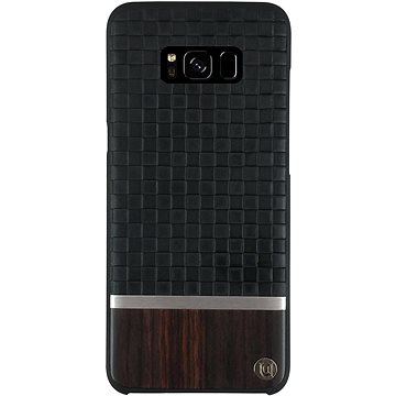 Uunique kryt Diamond Emboss/Wood Galaxy S8 Black (UUS8SLSHS04)