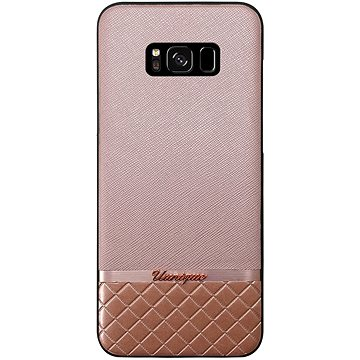 Uunique kryt Pink Metallic/Saffiano Galaxy S8 Pink (UUS8SLSHS06)