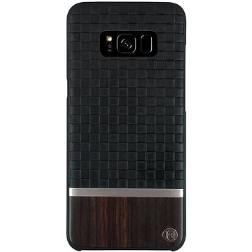 Uunique kryt Diamond Emboss/Wood Galaxy S8+ Black (UUS8PSLSHS02)