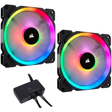 Corsair LL140 RGB LED 140mm Static Pressure PWM (CO-9050074-WW)