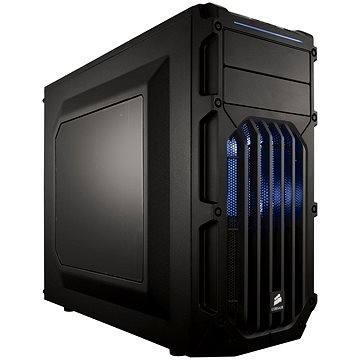 Corsair SPEC-03 Blue LED Carbide Series černá s průhlednou bočnicí (CC-9011058-WW)