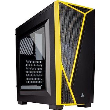 Corsair SPEC-04 Black/Yellow Carbide Series černá/žlutá s průhlednou bočnicí (CC-9011108-WW)