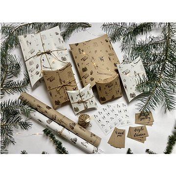 Be Nice Přírodní vánoční balící sada (SPR)