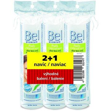 BEL Premium vatové tyčinky 200 ks + BEL Premium podušky kulaté 3x 75 ks (7034490)