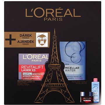 Dárková sada ĽORÉAL PARIS Revitalift Laser X3 (8592807146743)