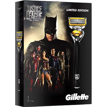 Dárková sada GILLETTE Fusion Proshield JUSTICE LEAGUE Batman kazeta (7702018455614)