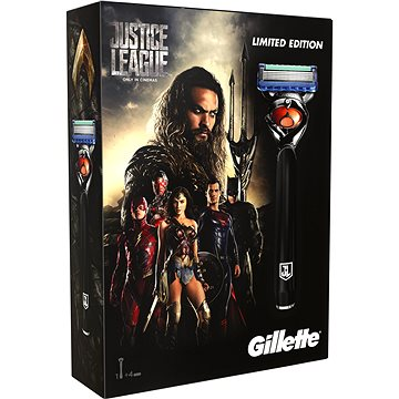 Dárková sada GILLETTE Fusion Proglide JUSTICE LEAGUE Aquaman kazeta (7702018459582)