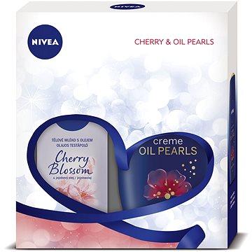Dárková sada NIVEA Body Cherry dárkové balení plné péče s vůní třešňových květů (9005800292052)