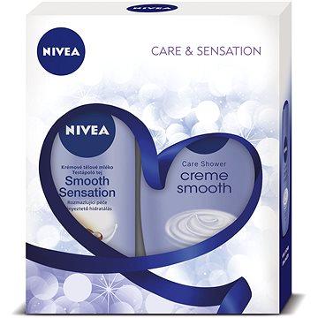 Dárková sada NIVEA Body Smooth dárkové balení pro hedvábně jemnou pokožku (9005800292366)