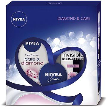 Dárková sada NIVEA Deo Clear dárkové balení péče se třpytem diamantů (9005800292380) + ZDARMA Dárek NIVEA Cellular Volume Filling 1,5 ml