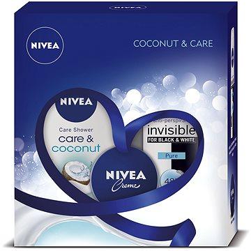 Dárková sada NIVEA Deo Pure dárkové balení péče s vůní kokosu (9005800292397) + ZDARMA Dárek NIVEA Cellular Volume Filling 1,5 ml