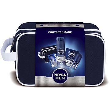 Dárková sada NIVEA Men Protect dárková taška s prověřenou péčí na holení (9005800292465)