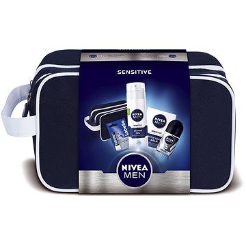 Dárková sada NIVEA Men Sensitive dárková taška pro muže s citlivou pletí (9005800292472)