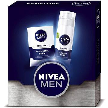 Dárková sada NIVEA Men Balm Sensitive dárkové balení pro hladké oholení bez podráždění (9005800292557)