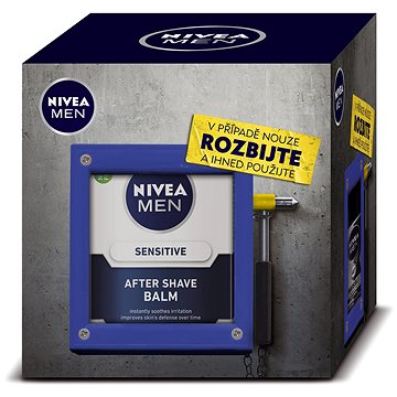 Dárková sada NIVEA Men Emergency toolbox osmetická první pomoc (9005800292588)