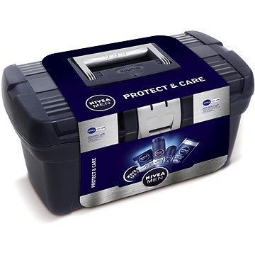 Dárková sada NIVEA Men Curver Toolbox dárkový box kosmetiky (9005800292595)