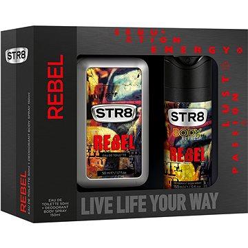 Dárková sada STR8 Rebel kazeta (5900536286297) + ZDARMA Toaletní voda B.U. MY SECRET 1,2 ml