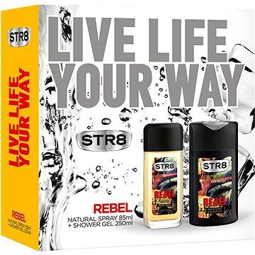 Dárková sada STR8 Rebel kazeta (5999535409981) + ZDARMA Toaletní voda B.U. MY SECRET 1,2 ml