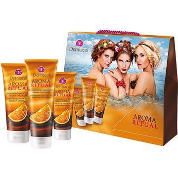Dárková sada DERMACOL Aroma Ritual Belgická čokoláda kazeta (8590031104652)