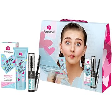DERMACOL Love my face + Selfie mascara (8595003110884)