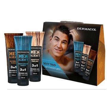 DERMACOL Men Agent Mix sprchových gelů (8595003110723)