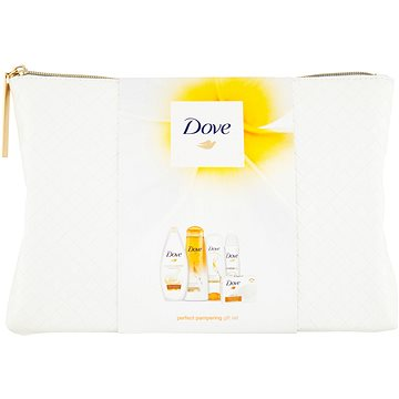 DOVE Perfect pampering velká vánoční dárková kosmetická taška pro ženy (8717163688380)