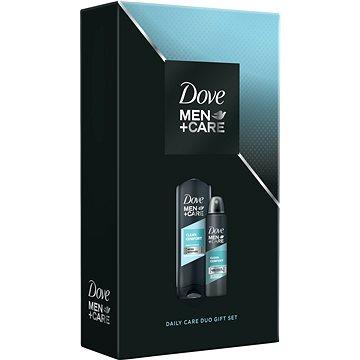 DOVE Men+Care Clean comfort malá vánoční dárková kazeta pro muže (8717163707258)