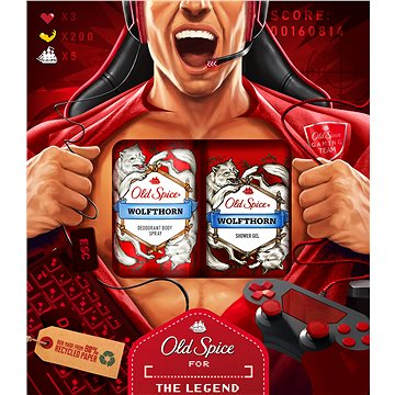 OLD SPICE Whitewater Fireman Trio (8001841379647)