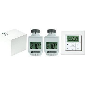 eQ-3 MAX! sada dvou hlavic a bezdrátového termostatu (596023)