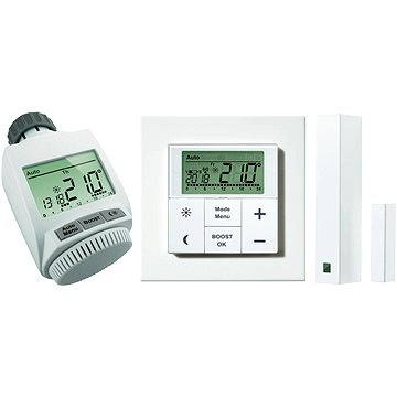 eQ-3 MAX! sada hlavice, okenního a dveřního kontaktu + bezdrátový termostat (596026)