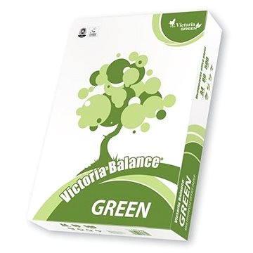 VICTORIA Balance Green A4 - recyklovaný (LBG480)