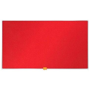 """NOBO 32""""/71x40 cm textilní, červená (1905310)"""