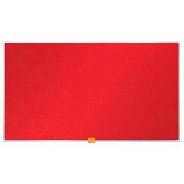 """NOBO 40""""/89x50 cm textilní, červená (1905311)"""