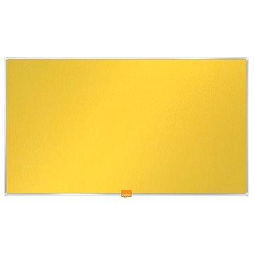 """NOBO 32""""/71x40 cm textilní, žlutá (1905318)"""