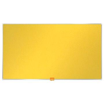 """NOBO 55""""/122x69 cm textilní, žlutá (1905320)"""