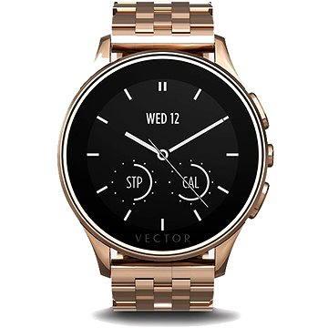 Chytré hodinky Vector Luna Rose Gold ocel (L1-10-014)