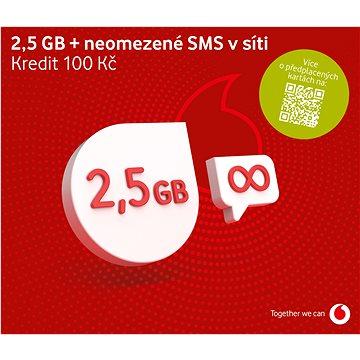 Vodafone datová karta - 1,2 GB dat (SK48A101)