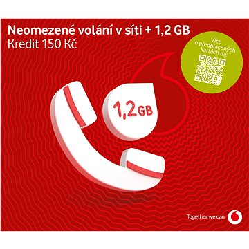 Vodafone neomezené volání do sítě Vodafone (SK48A100)