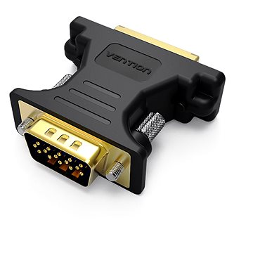 Vention DVI Female to VGA Male Adapter Black (DV350VG)