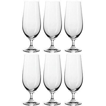 BANQUET Sklenice na pivo 6ks Leona Crystal 370ml A11306 (A11306)