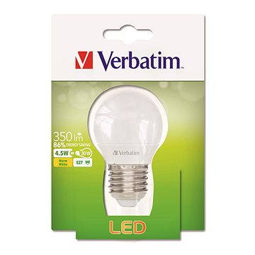 Verbatim 4.5W LED E27 2700K (52642)